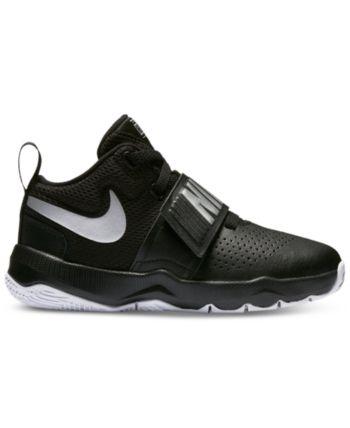 317a5a7dee245 Nike Little Boys' Team Hustle D8 Basketball Sneakers from Finish Line -  Black 2
