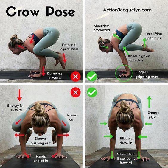 Yoga For The Non Flexible : Crow pose