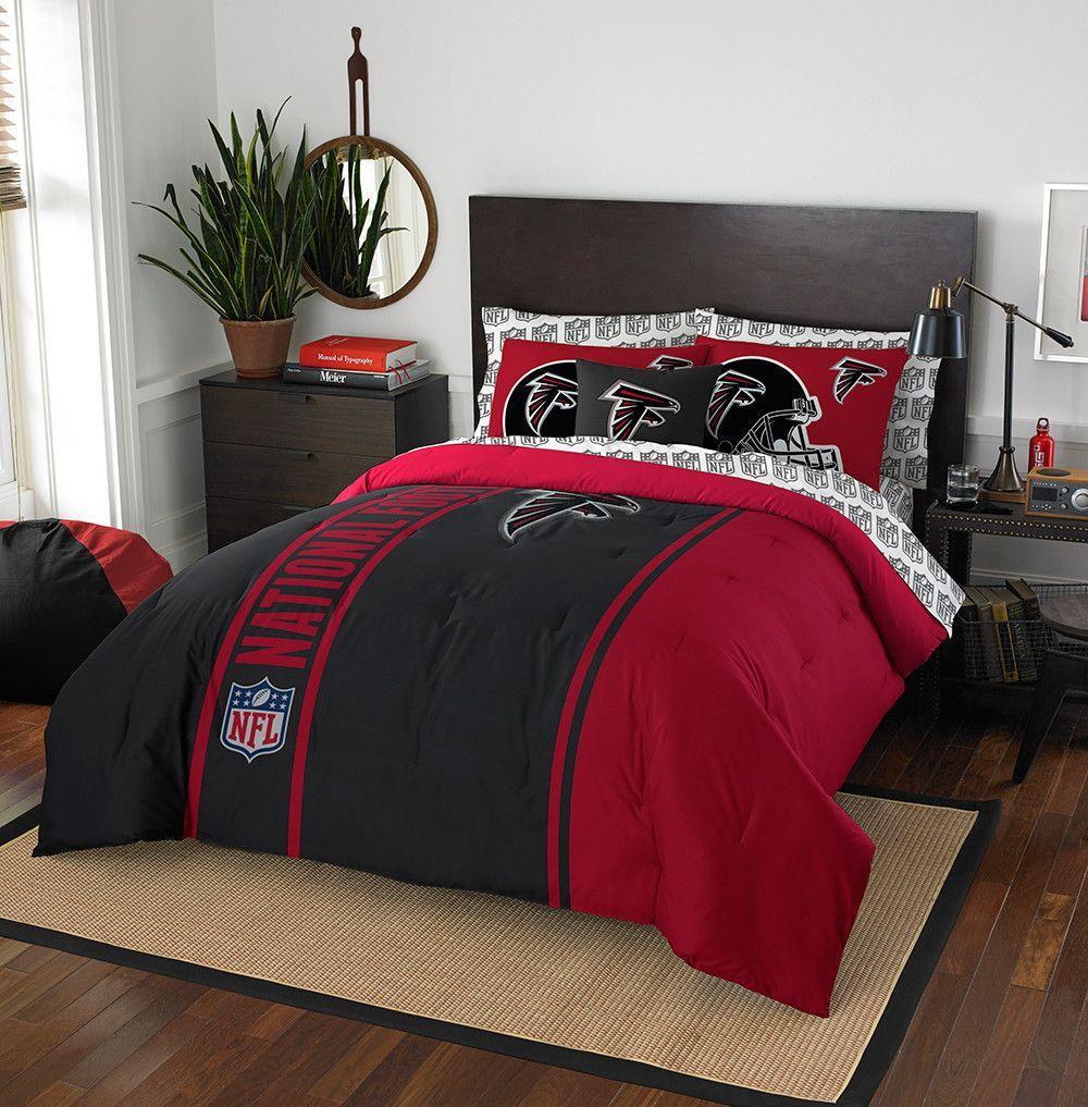 Atlanta Falcons NFL Full Comforter Bed in a Bag (Soft