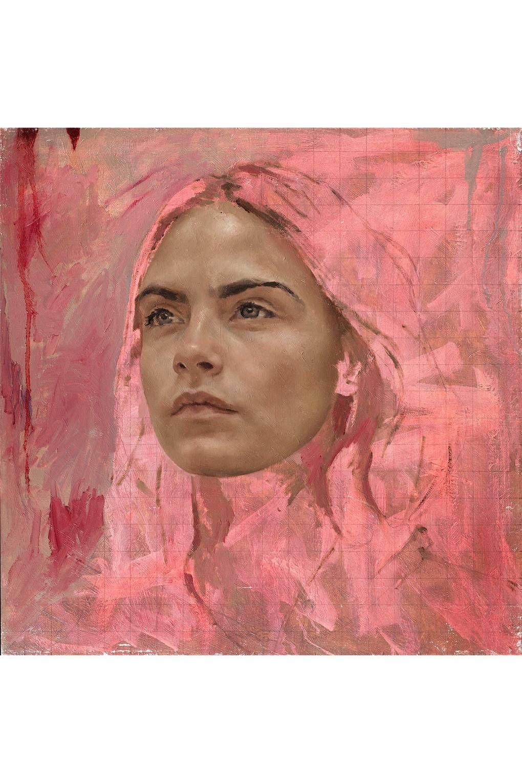 Wauw! Wat een super mooie manier om realisme en kleur te gebruiken!  #stabilonl #color #realistic #drawing #realism #caradelevinge #painting