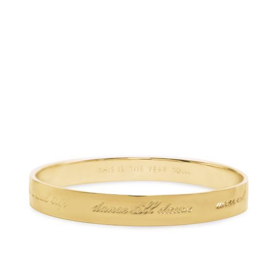 kate spade | this is the year to idiom bangle