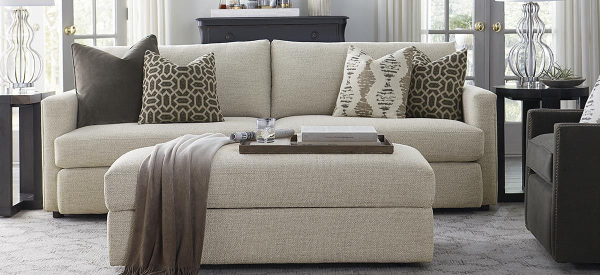 Allure Sofa Bassett Furniture Living Room Couch Furniture