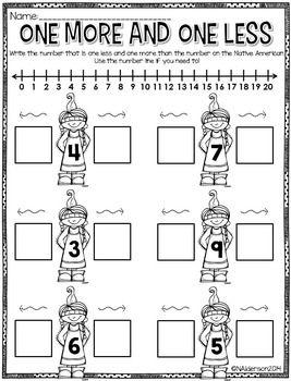 Straight Up Standards For November Printables Kindergarten Math Preschool Math Math Activities One less worksheet kindergarten