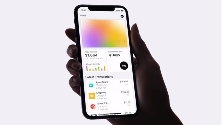 Apple Card first ever credit card launched by Apple Inc