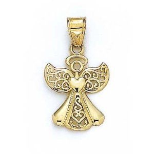 Gold Angel Pendant Angel Jewelry Pinterest Angel Pendants and