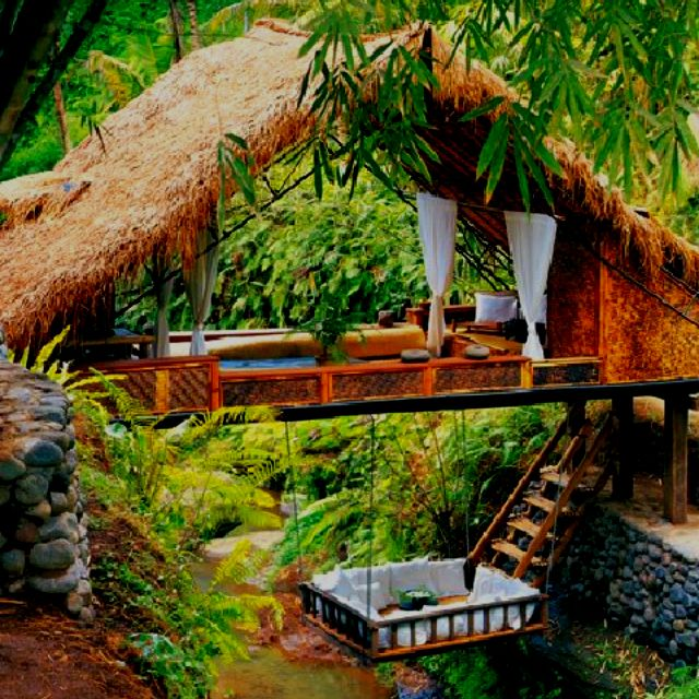 A room at the Panchoran Retreat in Bali
