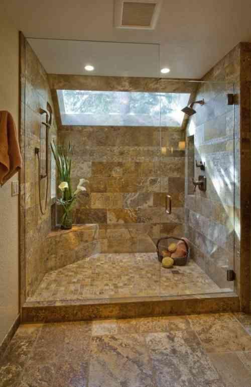 Badezimmer Travertinfliesen und wie man es für mehr
