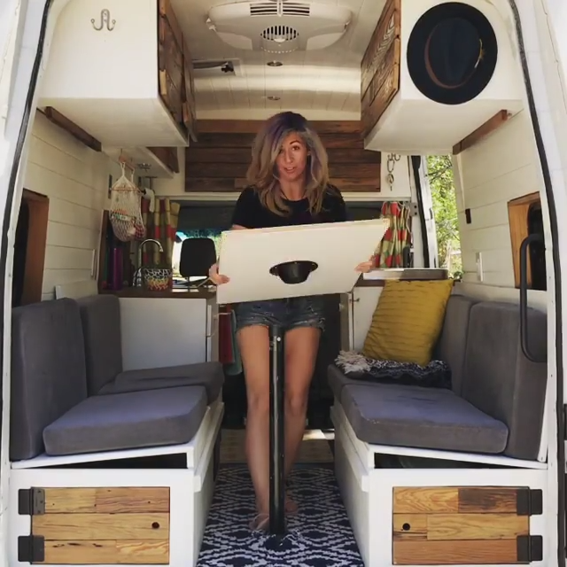 Photo of From Dining Table to Bed in 60 seconds! #VanLife