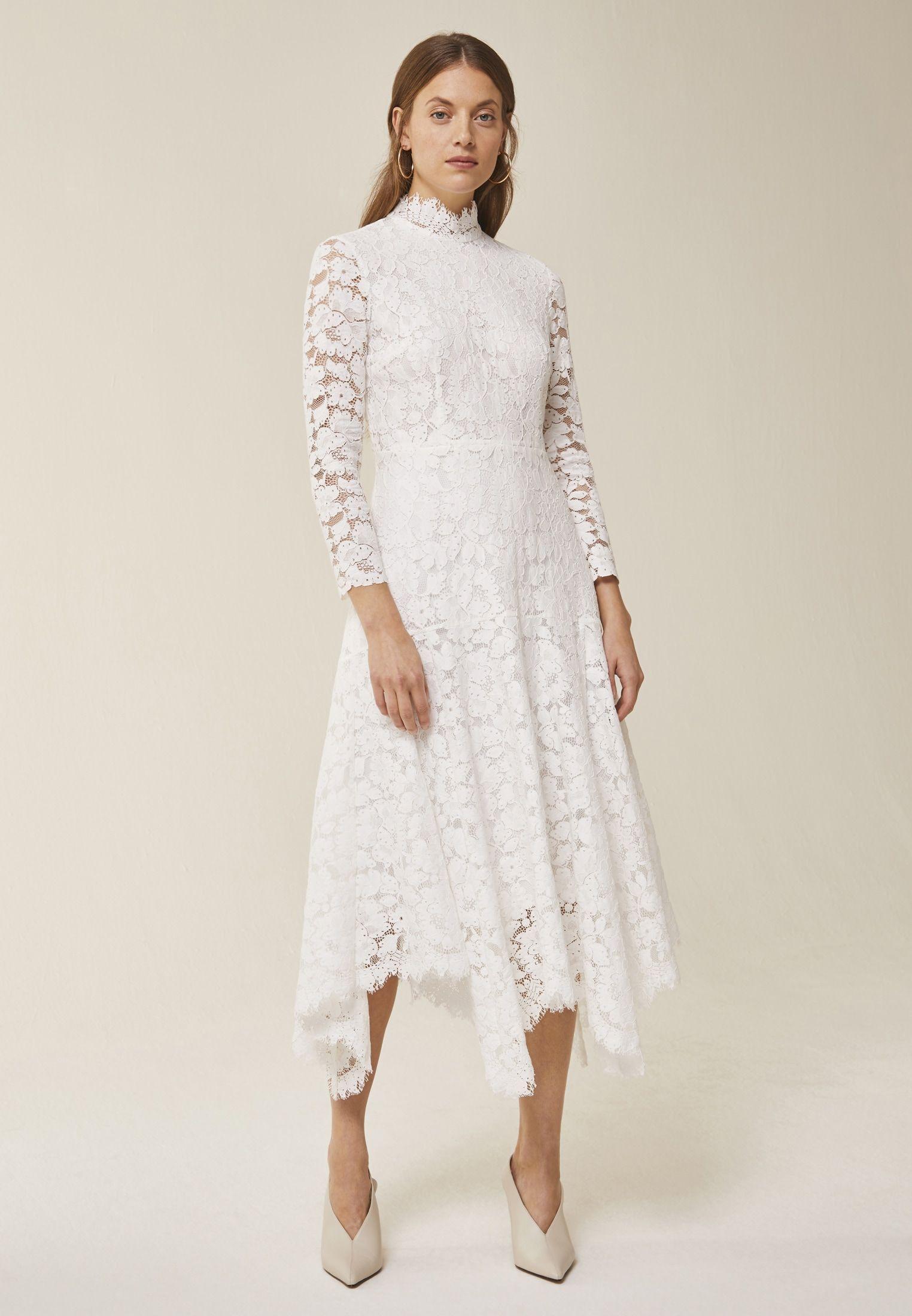 ivy & oak occasion wear - snow white - zalando.de in 2020