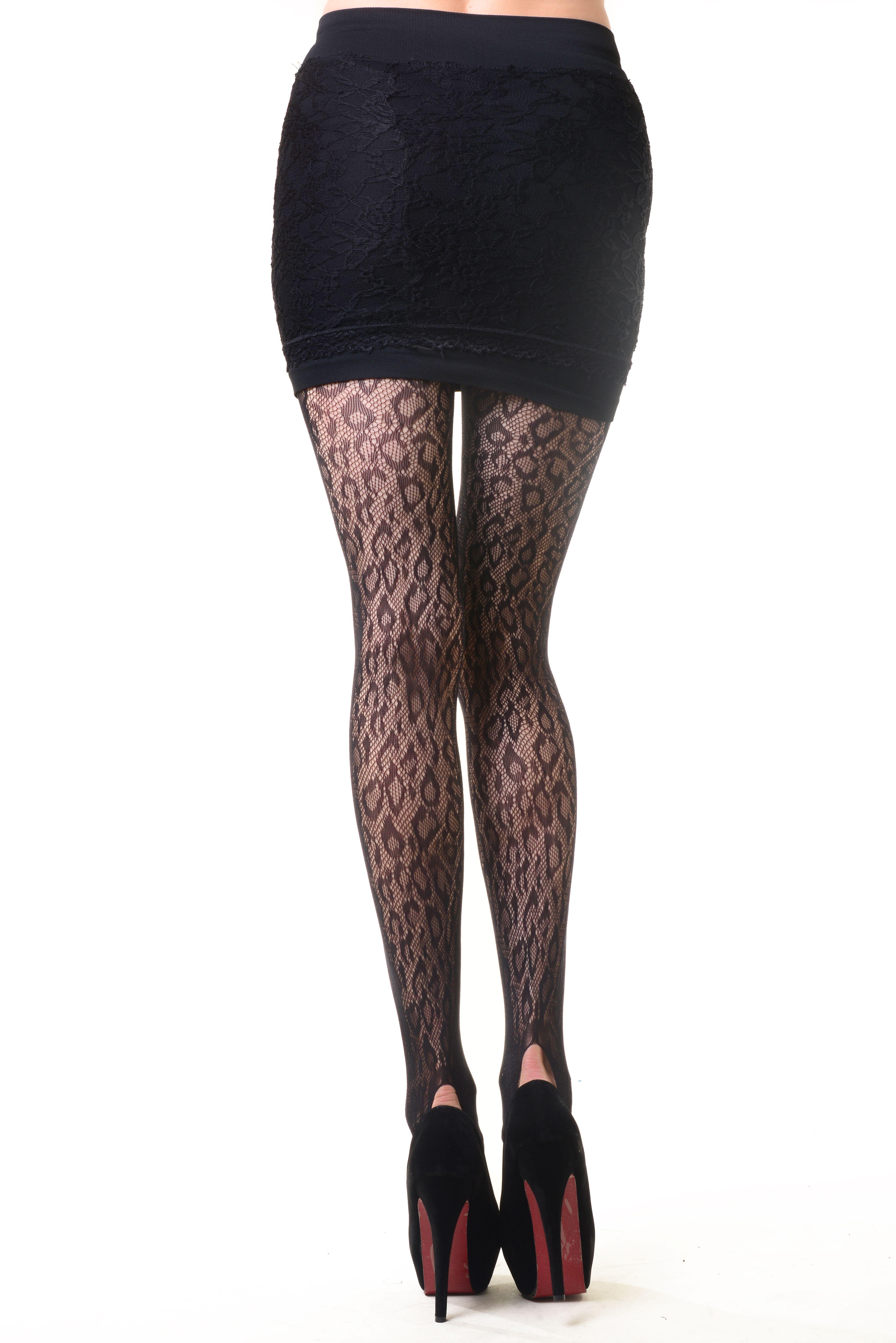 a443f4a54 Women Fashion Design Cheetah Leopard Fishnet Tights