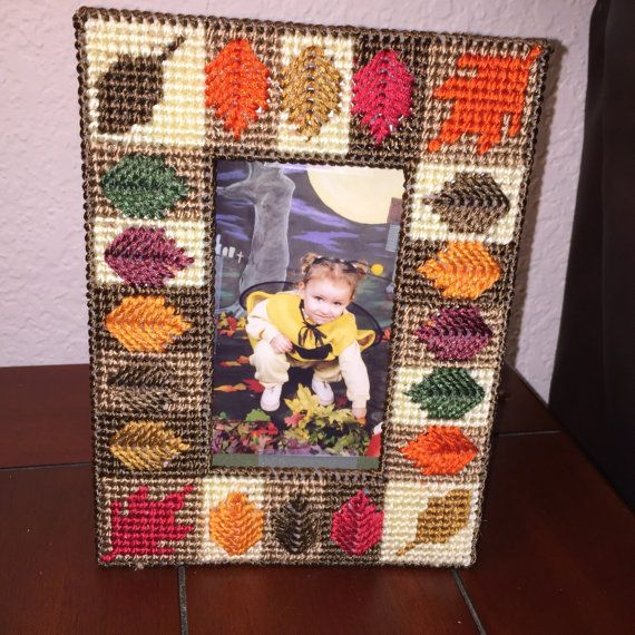 Easy Fall Picture Frame by BossCanvasCrafts on Etsy