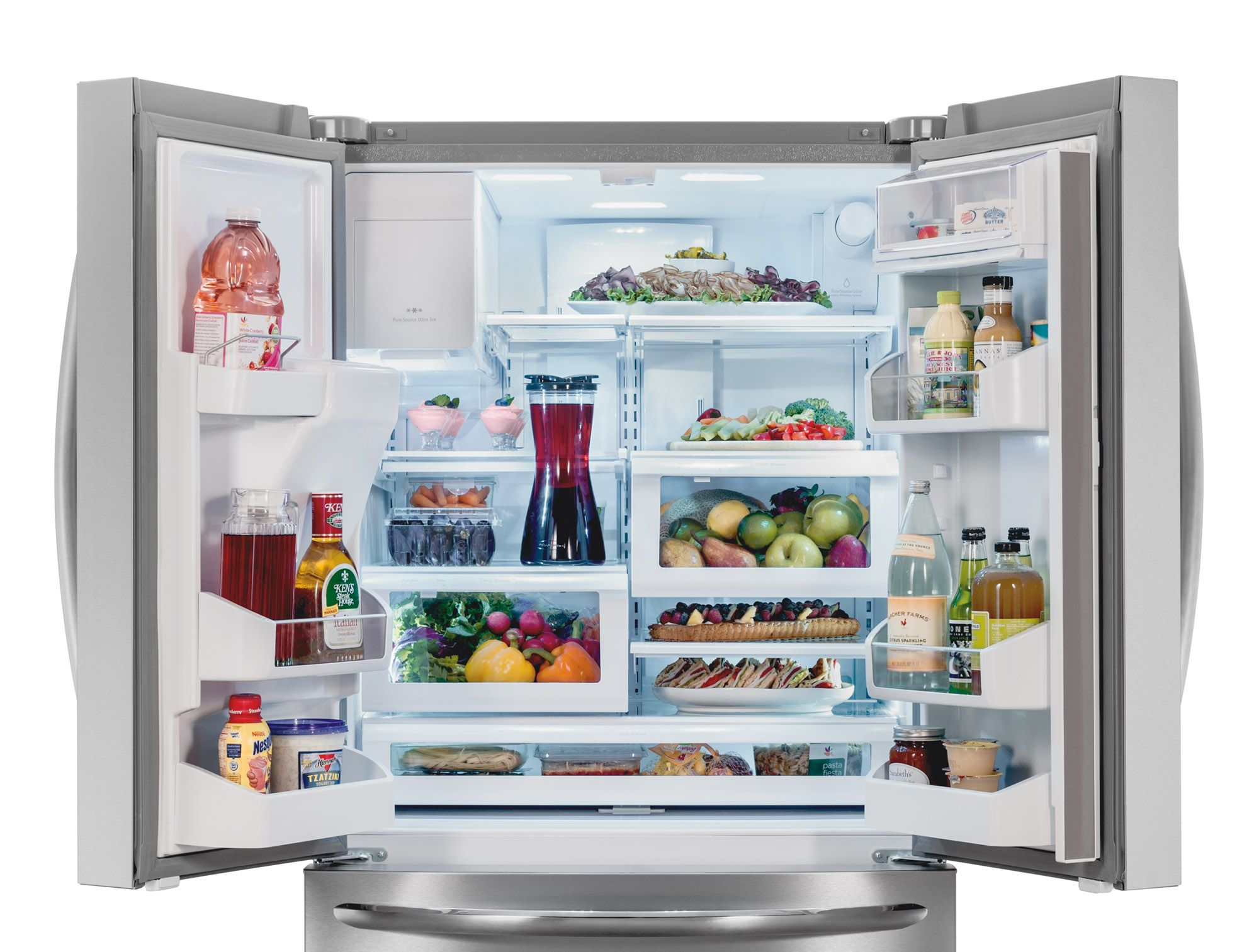 The Frigidaire Spacewise Organization System That Provides More