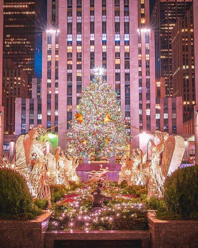 El árbol de Navidad de Rockefeller center ya deslumbra en Nueva York 🎄🎄🎄 . .     centrorockefeller #rockefellercenter #noelchristmas #christmascountdown #christmasideas #christmasyard #christmasinnewyork #christmaslights #christmastravel