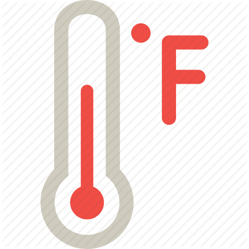 Fahrenheit Measure Scale Temperature Thermometer Icon Download On Iconfinder Icon Thermometer Temperatures