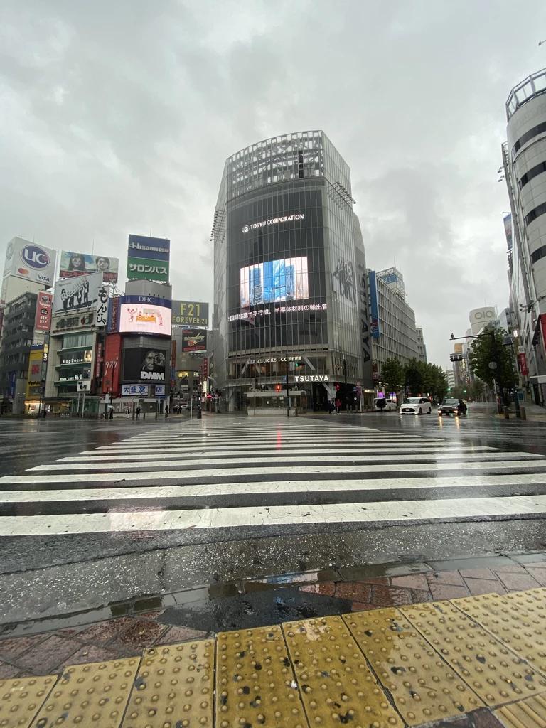 Tokyo Typhoon Extreme Weather Tourists  Oyl Shop
