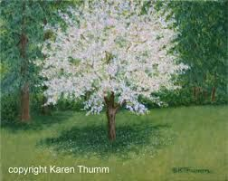 Image result for blossom tree painting