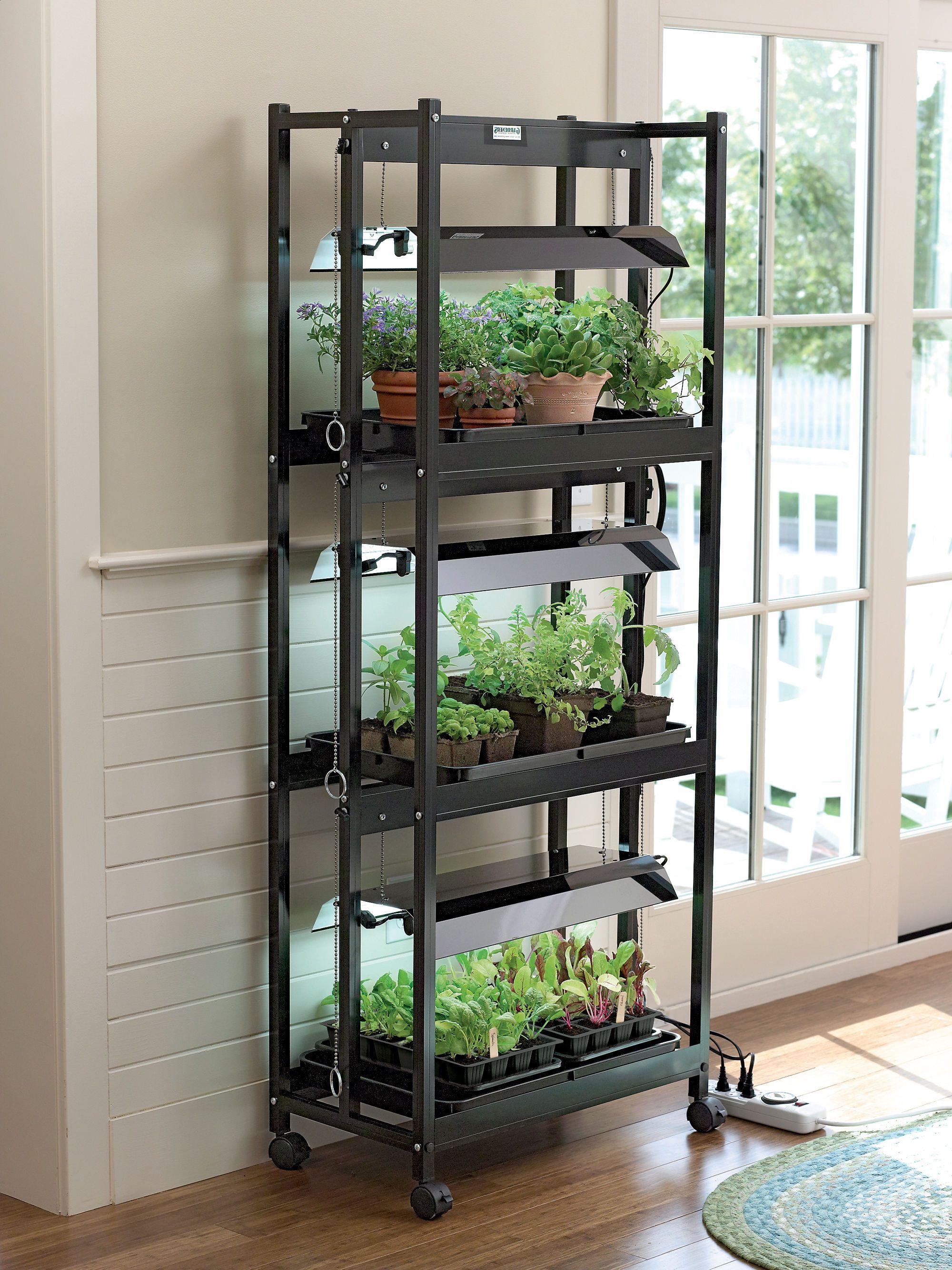 Grow Lights Compact 3Tier SunLite® Garden Gardeners