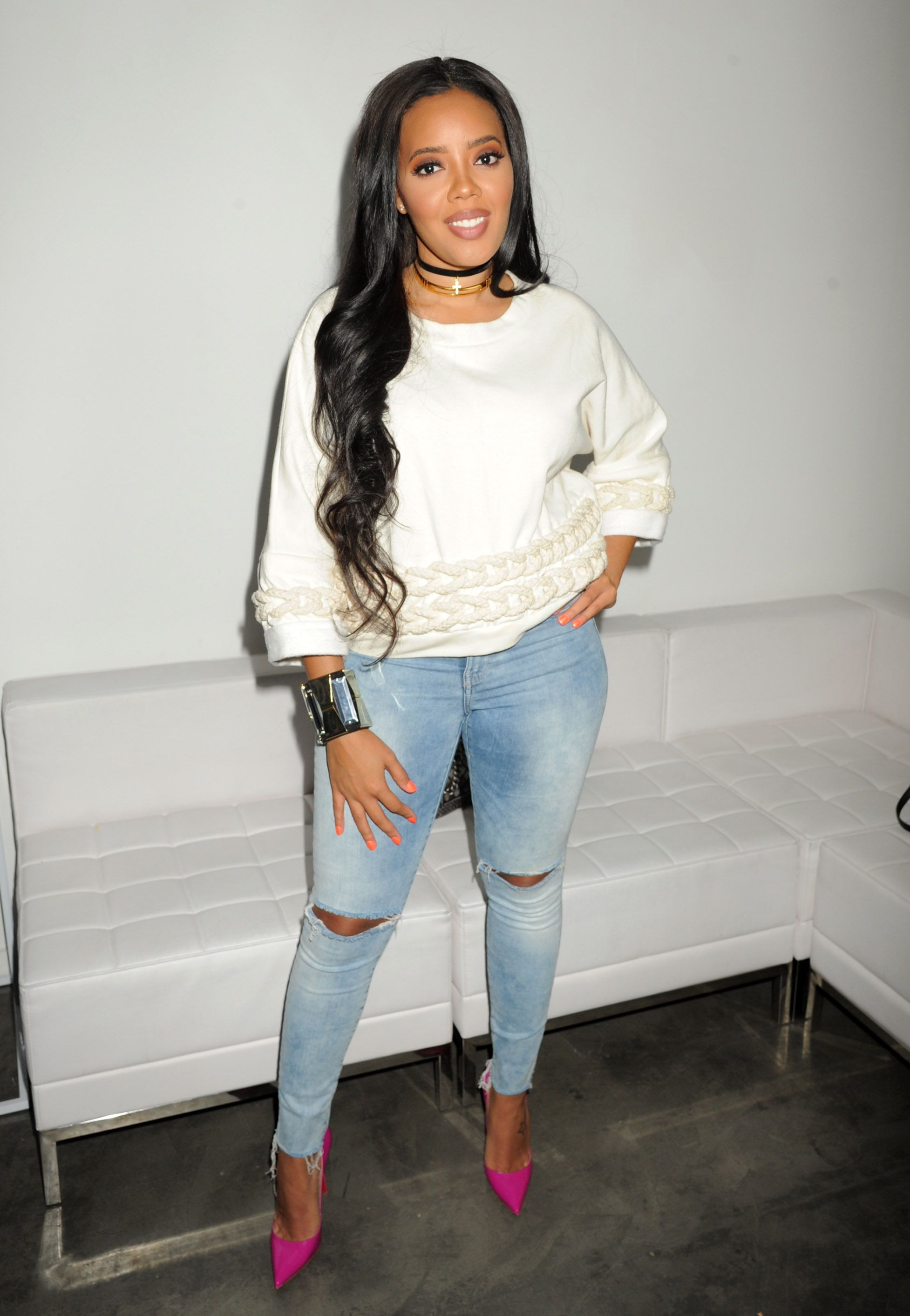 Angela Simmons Is Pregnant With Her First Child U2014 See Her Baby Bump!