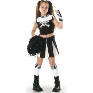 Quatang Gallery- Deguisement Gothique Enfant Pompom Girl Bad Spirit Kids Costumes Girls Top Halloween Costumes Cheerleader Costume Kids