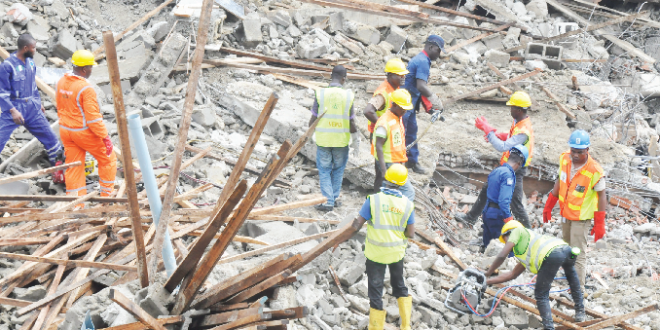 Collapsed Building: Survivors Cry For Medical Attention