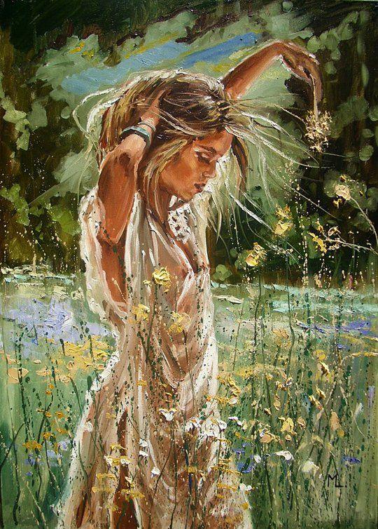 Pin by Kristina Lyahtova on painting art | Art impressions