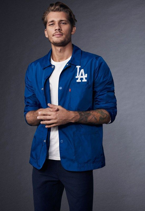 d9ebaa1e4a686 Levi's Los Angeles Dodgers Jacket | Dodgers | Dodgers jacket ...