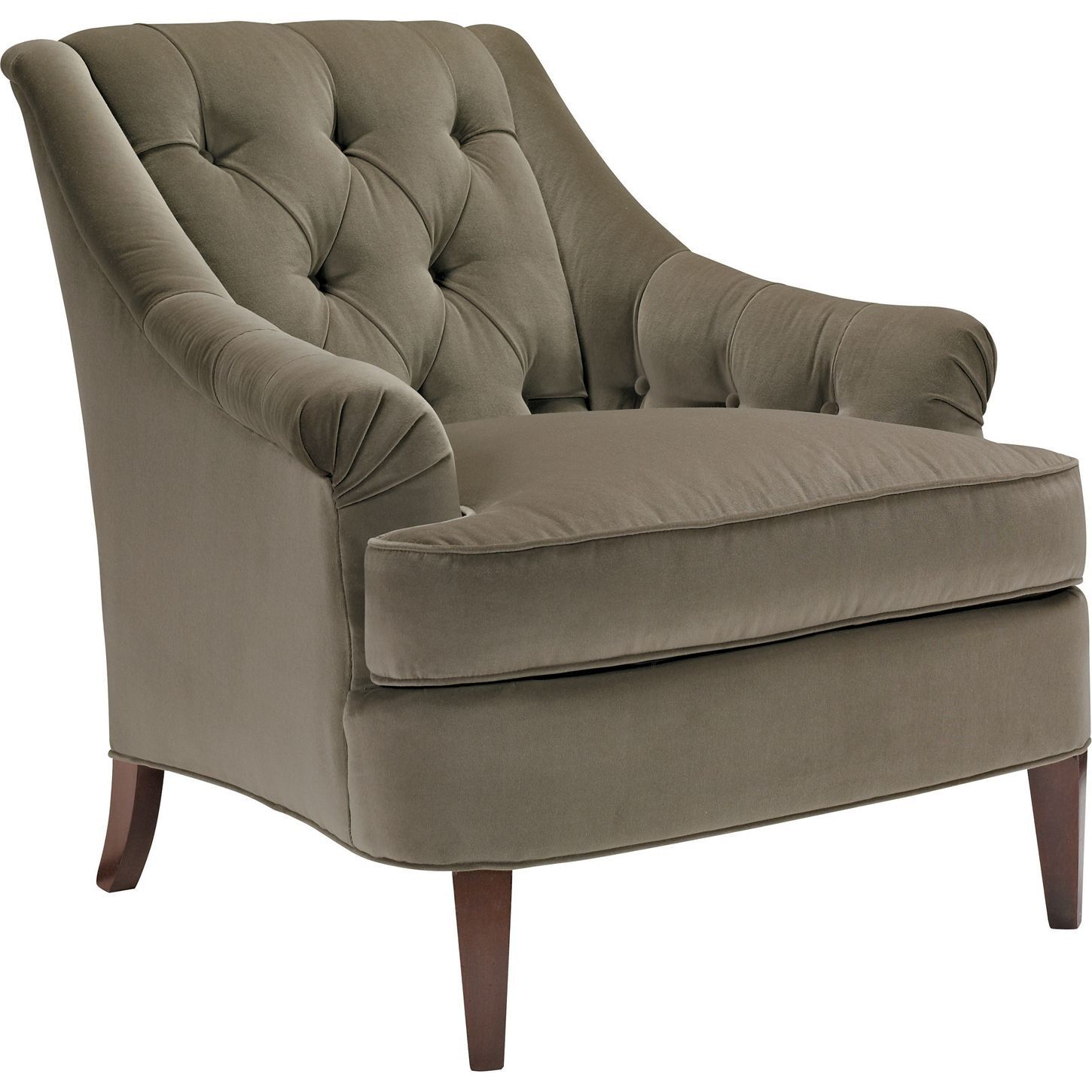 Marler Tufted Chair by HICKORY CHAIR Hickory chair