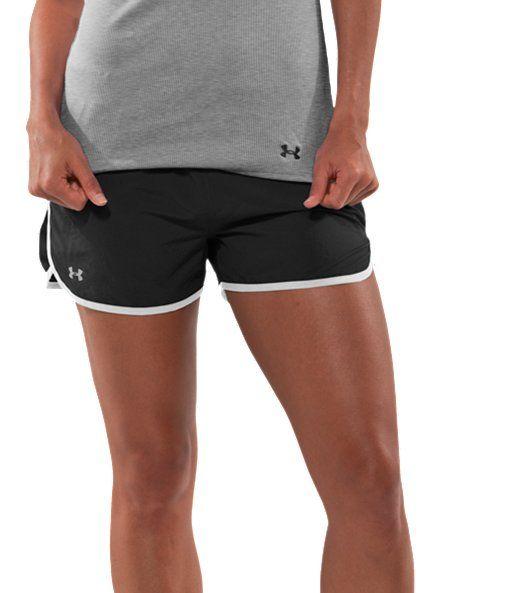 women s ua escape 3 running shorts running shorts running and shorts. Black Bedroom Furniture Sets. Home Design Ideas