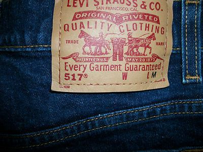 Levis 517 Boot Cut Size 11 Jr M