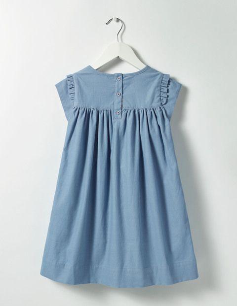 Pretty Cord Dress (Csarite Green)