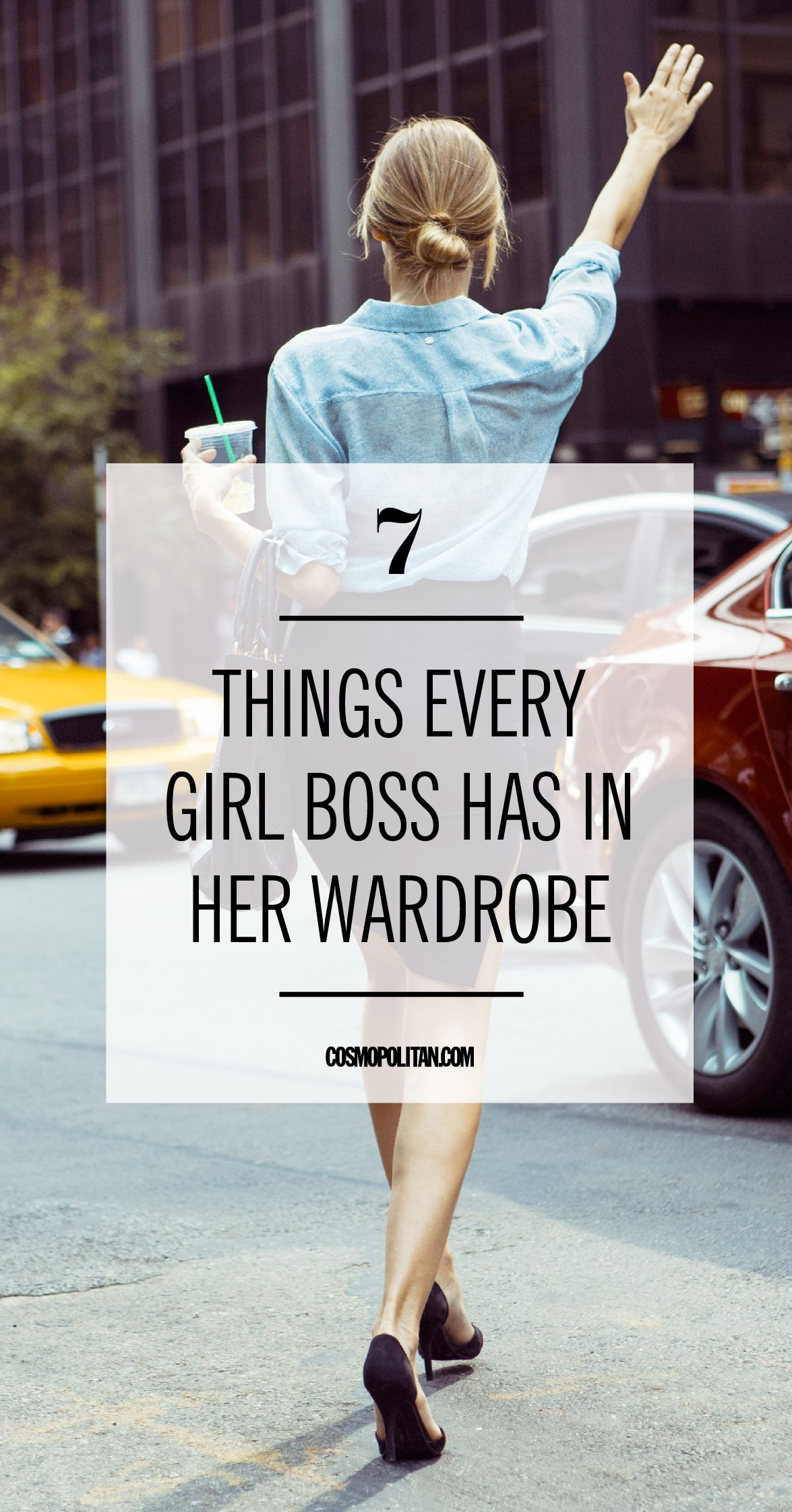 7 Things Every Girl Boss Has in Her Wardrobe  Girl boss, Fashion