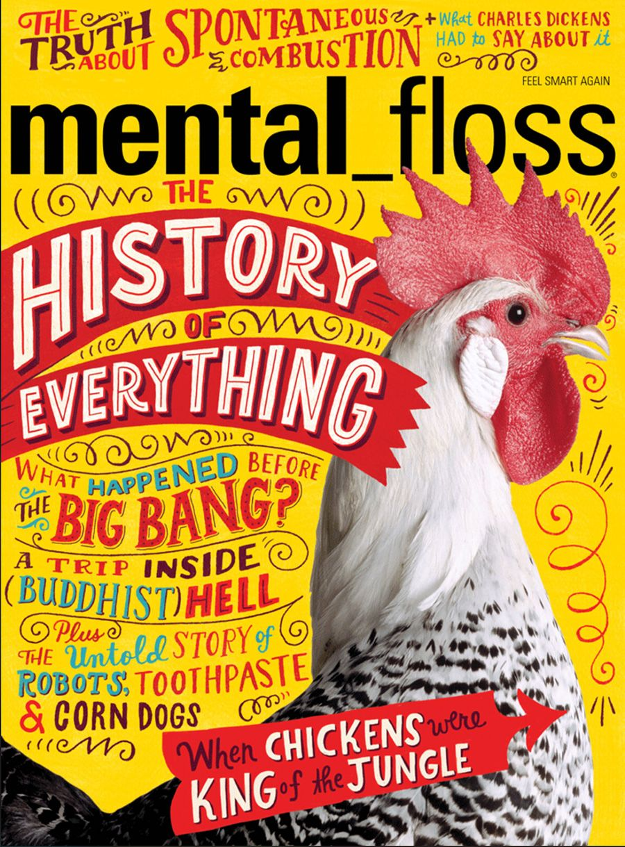 Mental Floss #magazine #cover | Diseño de portada de revista