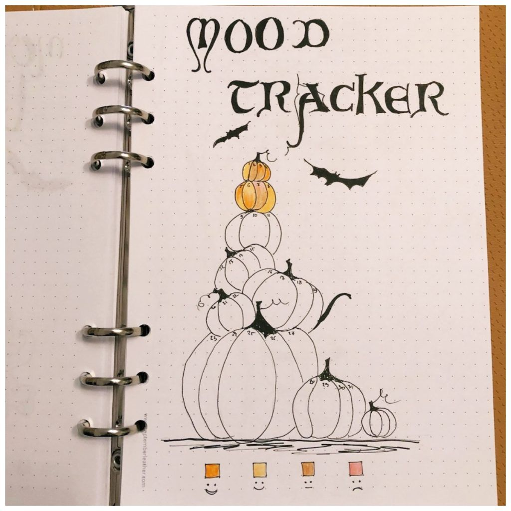 10 Mood Trackers for your Bullet Journal