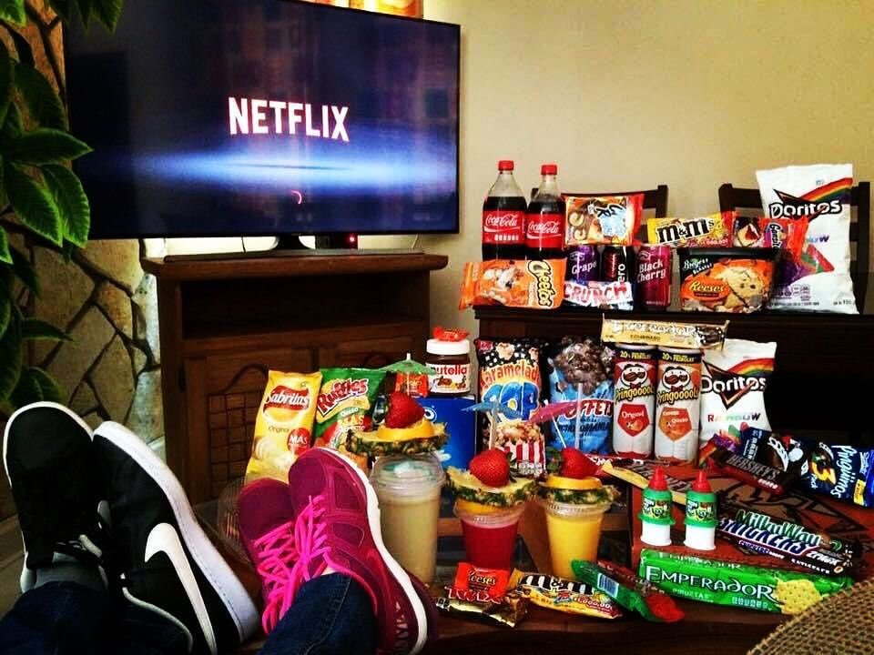 Image result for netflix and food