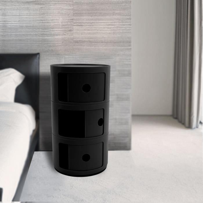 Multifunctional storage bedside table modern furniture (no …