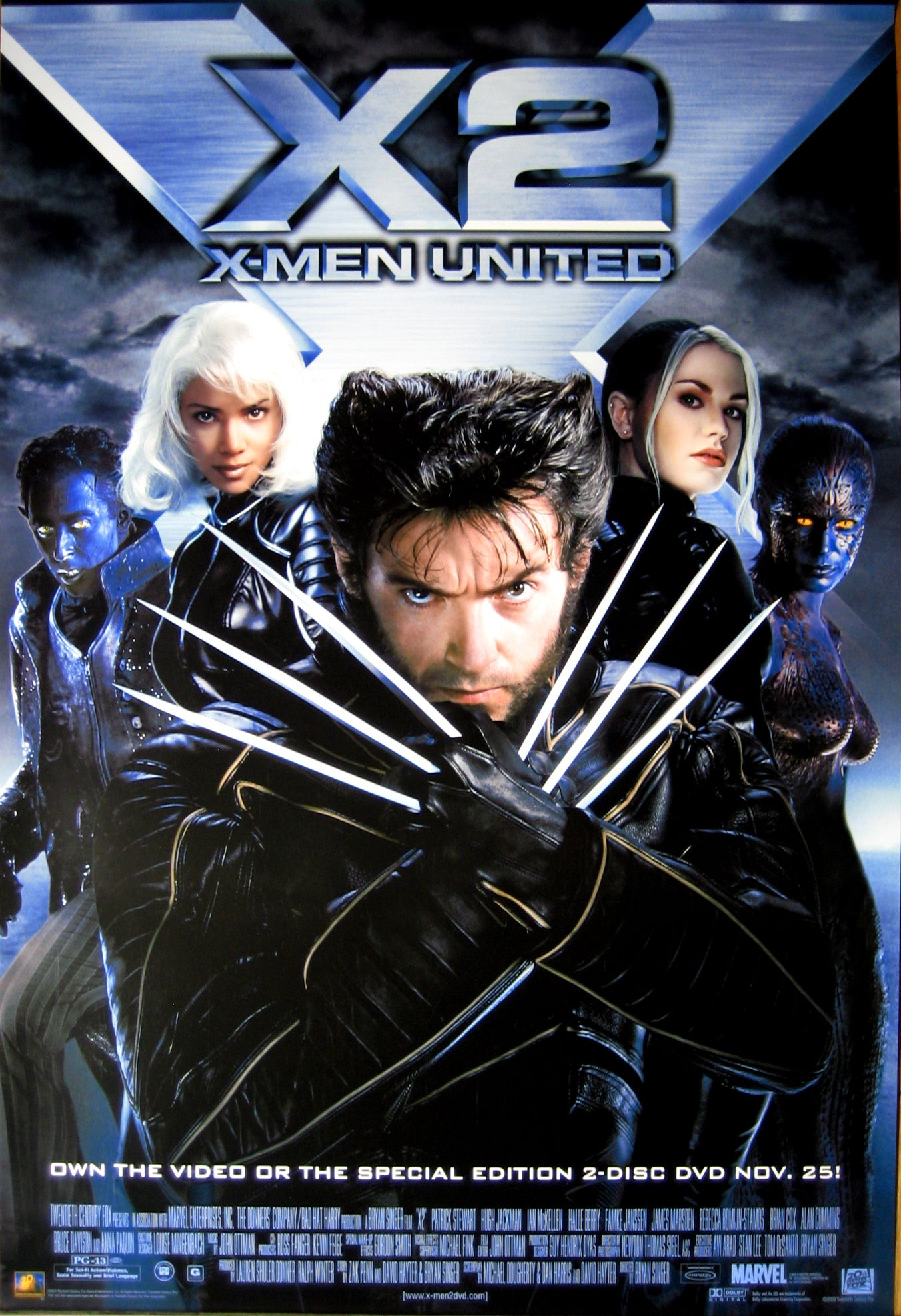 X2 X Men United 2003 Superhero Movies Man Movies X Men