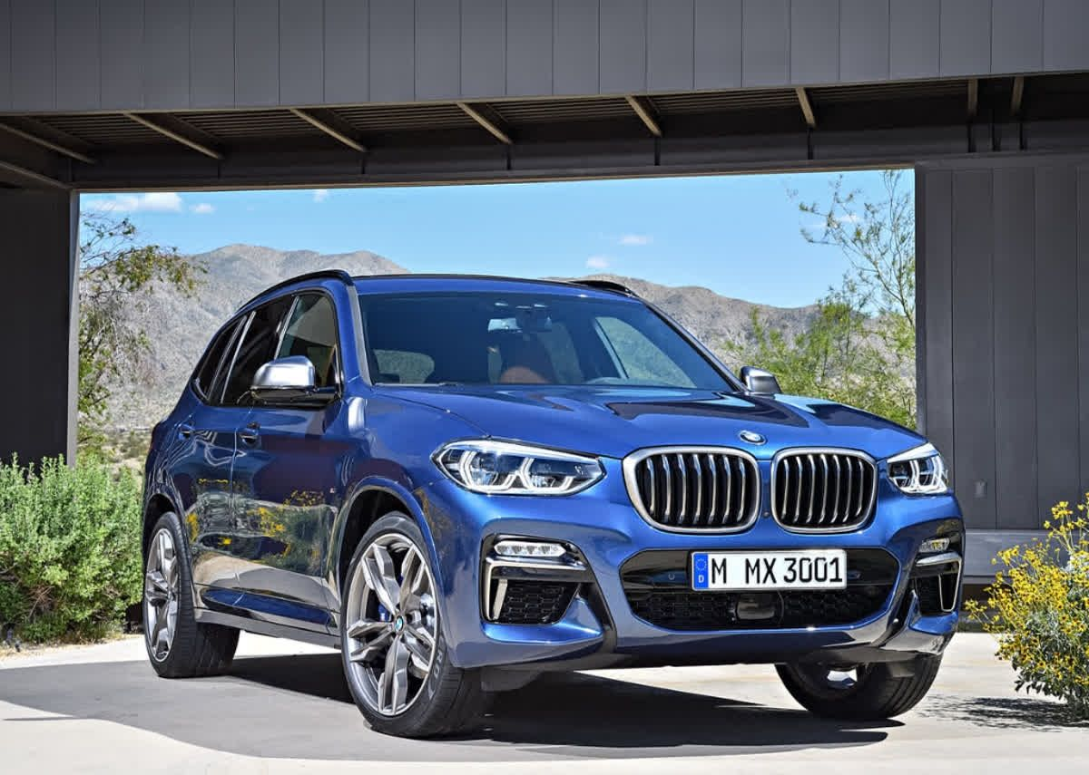 The BMW X3 is as much fun to drive as it is to be seen