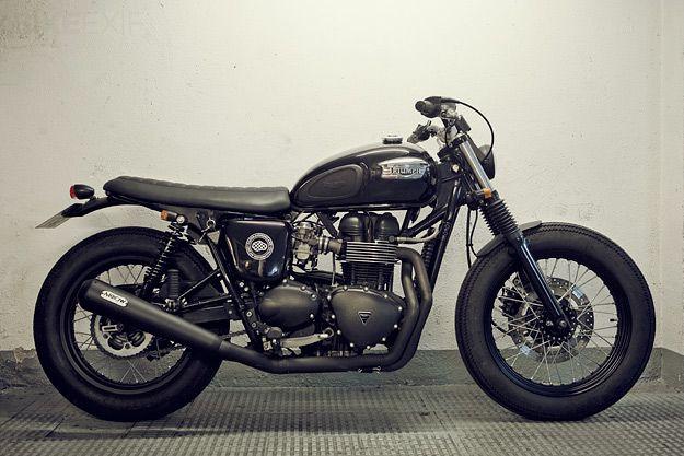 triumph bonneville bien plus qu 39 une moto une l gende moto cafe pinterest moto motos. Black Bedroom Furniture Sets. Home Design Ideas
