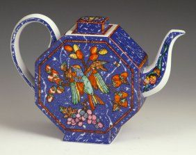 "Hermes ""marqueterie"" Teapot"