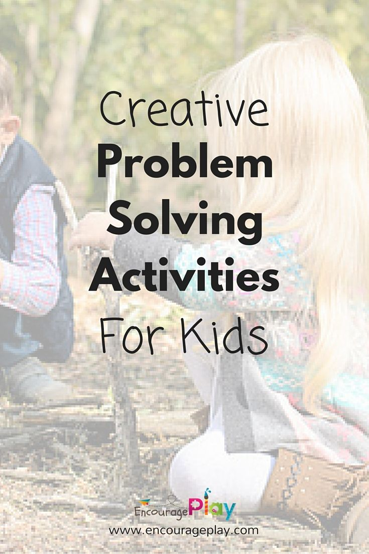 Creative Problem Solving Activities for Kids | Kid Blogger