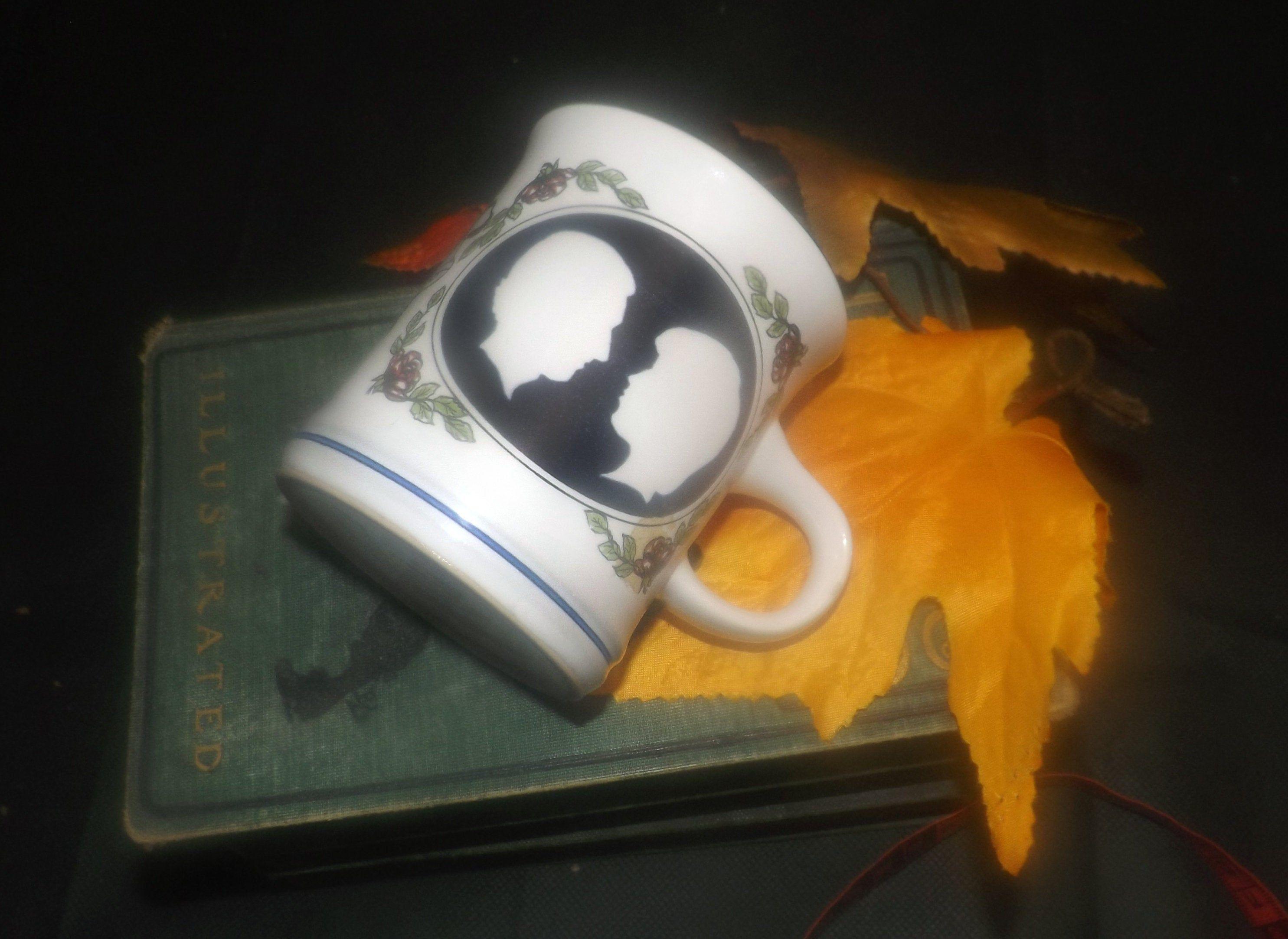 Vintage (1981) Denby Commemorative mug. Royal Wedding of