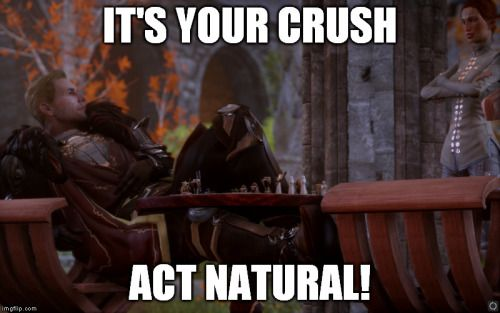 """valorratrevelyan: """" You're so smooth Cullen! """""""