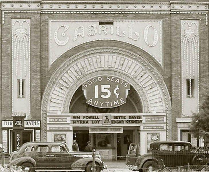 The Cabrillo Movie Theatre 1930s Let S All Go The Movies It S