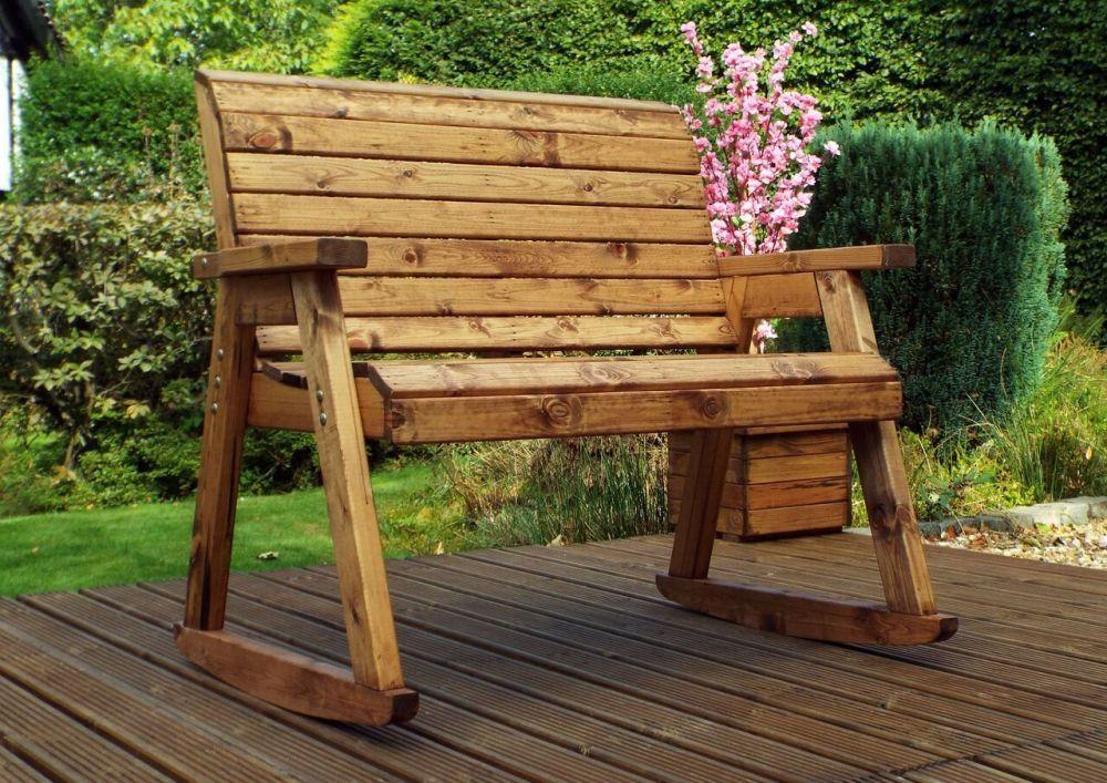Charles Taylor 2 Seater Rocker Garden Bench in 2020 ...