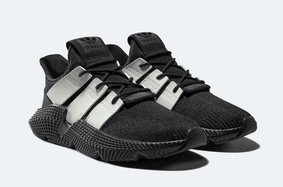 3555eddf7ef adidas Prophere Black White + Black Hot Pink Release Date - SBD ...