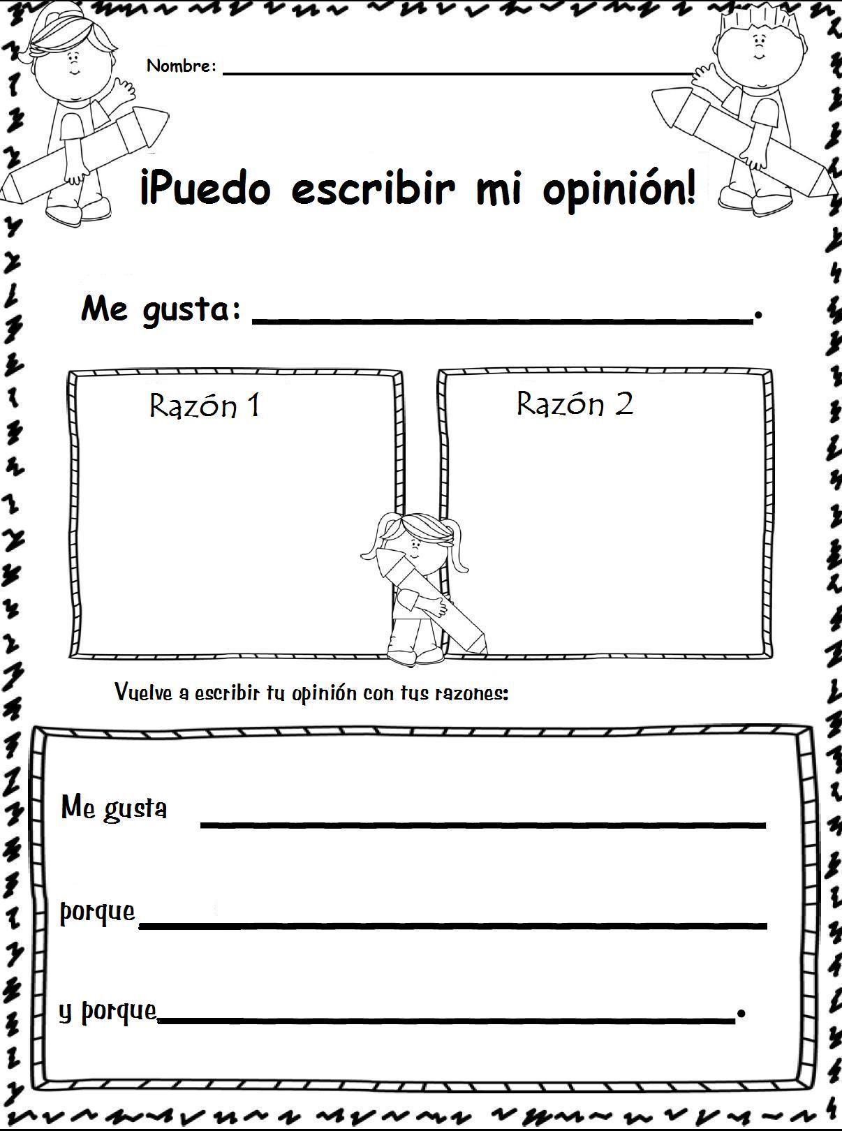 Organiza Tu Opinion Iniciacion Adaptacion Original En Ingles En Este Mismo Tablero