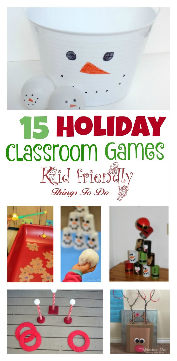 Christmas Party Games For The Holiday - Kid Friendly Things To Do ...