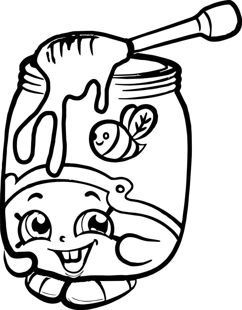 Food Coloring Pages Shopkins Colouring Pages Food Coloring