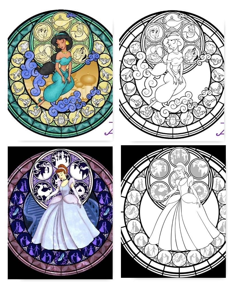 Mandalas Da Disney Para Imprimir Pginas Colorir
