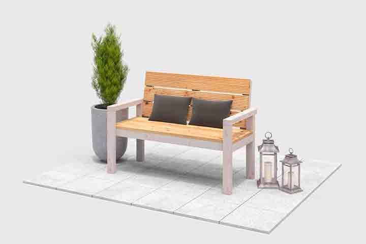 Projekt: Gartenbank Georg   Gartenbänke, Gartenbänke aus holz und Holz
